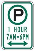 Hourly Pay Parking with Times